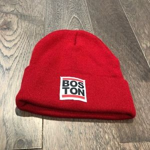 Boston knitted hat